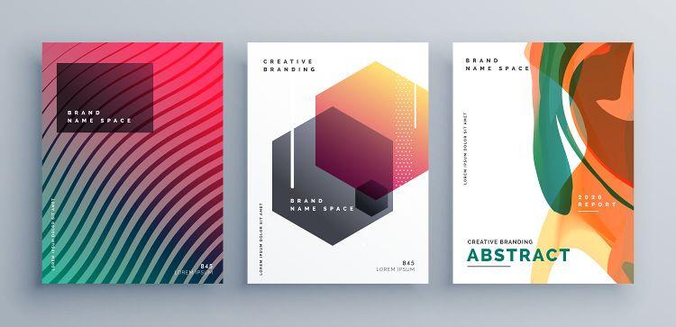 Opsi desain untuk material informasi yang sama