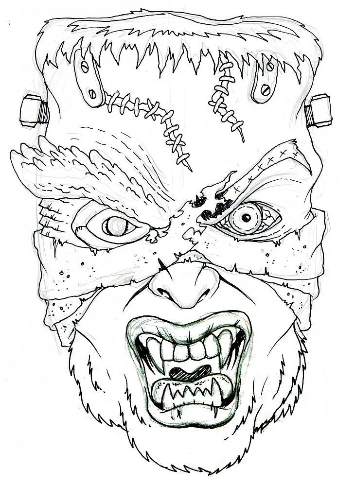 Lair of the Dork Horde: My Monster Mash-Up T-Shirt Design!