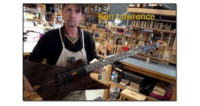 Guitarras Modelo Explorer del Luthier Ken Lawrence
