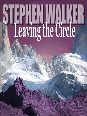 Leaving the Circle, Stephen Walker, Amazon, Kindle, download, purple, snow, mountains, short story