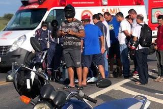 Acidente entre carro e moto deixa agricultor morto no interior da PB