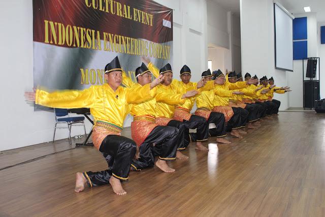 Pasukan Garuda Misi PBB Gelar Pagelaran Budaya di Markas PMPP TNI