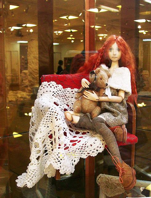 """Выставка авторской куклы в Самаре """"Куклы. Эмоции. Чувства."""", Татьяна Завальская (Самара) """"Лиза"""""""