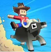 Lagi mencari game santai untuk mengisi waktu luang Rodeo Stampede: Sky Zoo Safari Apk v1.20.0 Mod Money Free for android