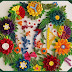 Paper Quilling : A Beautiful bunch of flowers for wall decoration