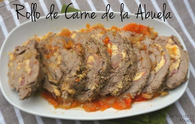 Rollo de Carne de la Abuela.