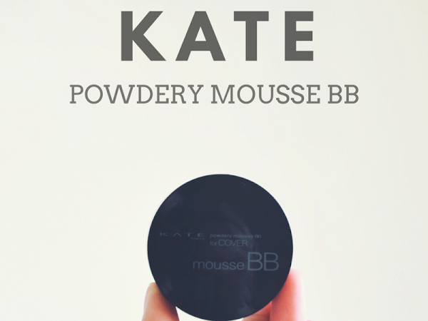 KATE Powdery Mousse BB Review : Foundation ringan dalam bentuk mousse hasilkan solekan flawless!