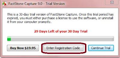 اسرع طريقة لتفعيل برنامج   FastStone Capture