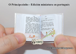 The Little Prince - miniature book - O Principezinho