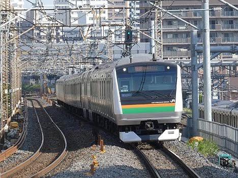 【今週末も運行!】E233系の快速 新宿行き(2018年 渋谷駅高架化工事に伴う運行)