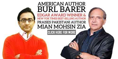 Burl Barer in praise of Mian Mohsin Zia