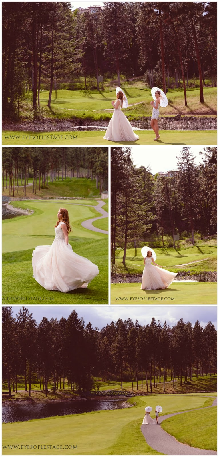 Enzoni, Juliette jewellery, Vera Wang, Sherri Hill. Okanagan Golf club