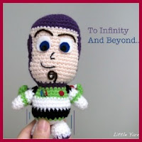 Mini Buzz amigurumi