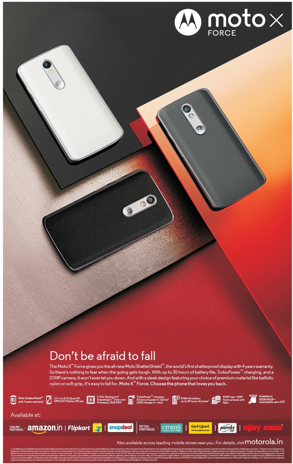 Moto x Force Guaranteed shatterproof | February 2016 discount offer