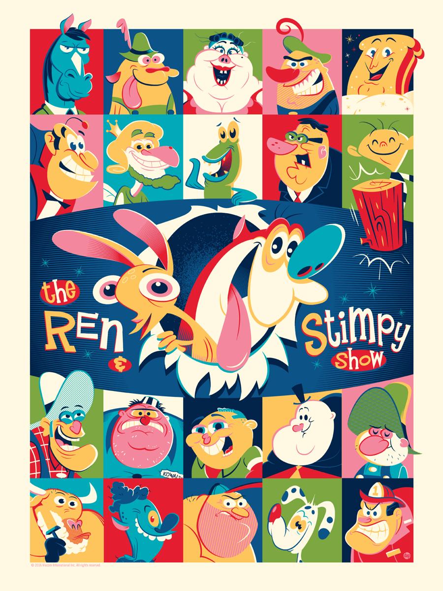 Inside The Rock Poster Frame Blog Mondo Nickelodeon Show