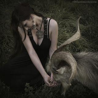 Meeting a friendly He-Goat, Akerra
