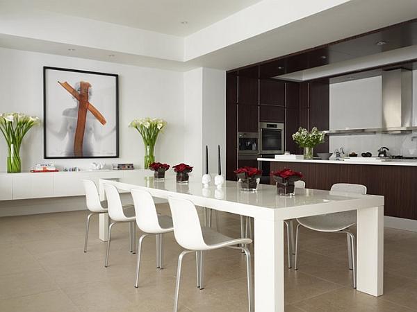 Contoh Model Ruang Makan Rumah Minimalis Modern