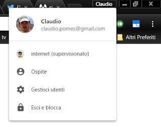 Bloccare chrome con password per proteggere i dati privati - Bloccare apertura finestre chrome ...