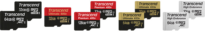 トランセンド製マイクロSDカードの選び方、おすすめmicroSDを紹介