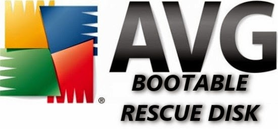 avg bootable rescue disk