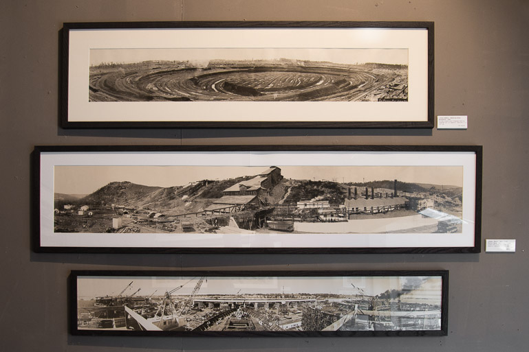 Photos panoramiques aux Puces de Saint-Ouen