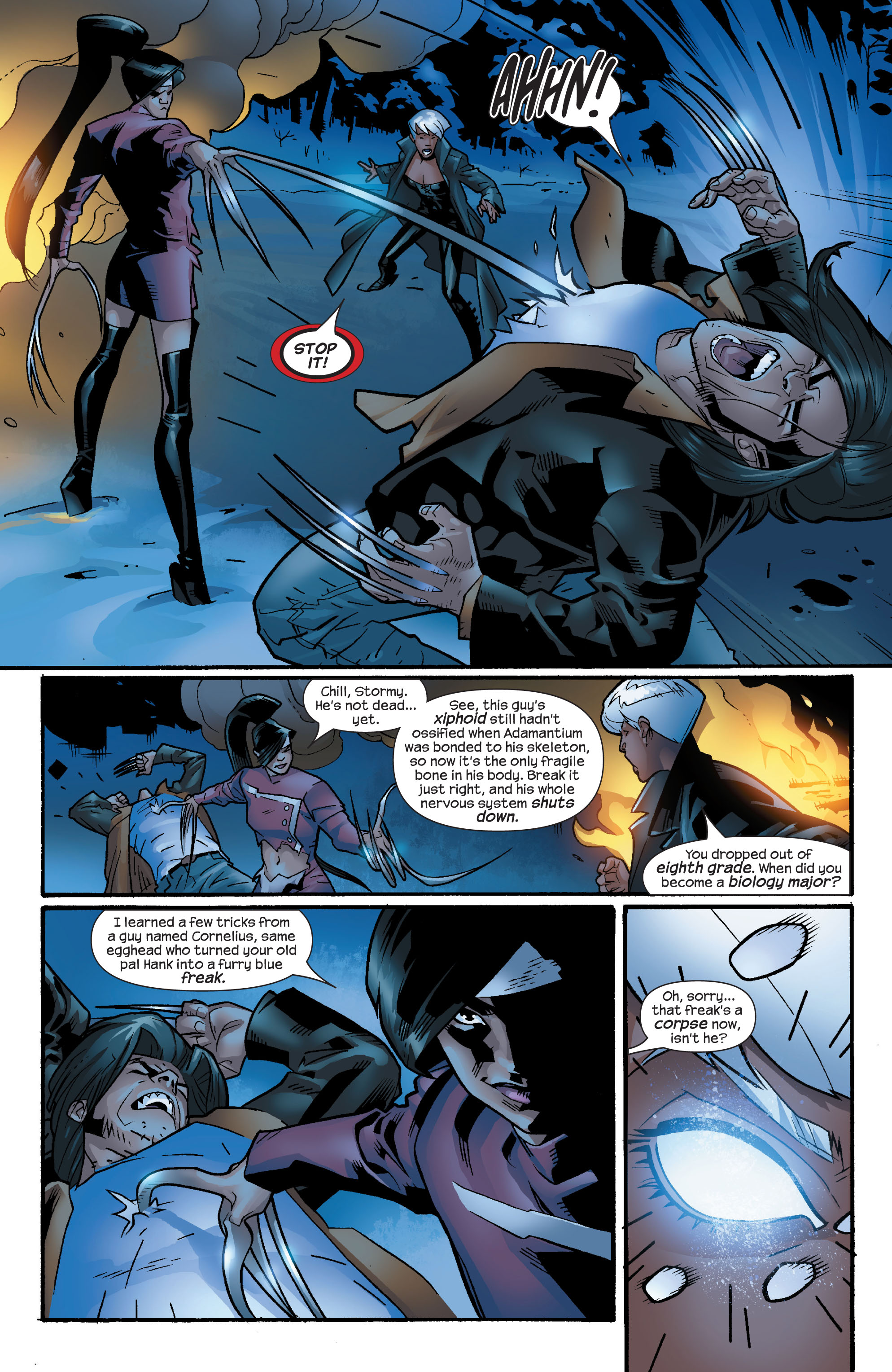 Read online Ultimate X-Men comic -  Issue #60 - 10