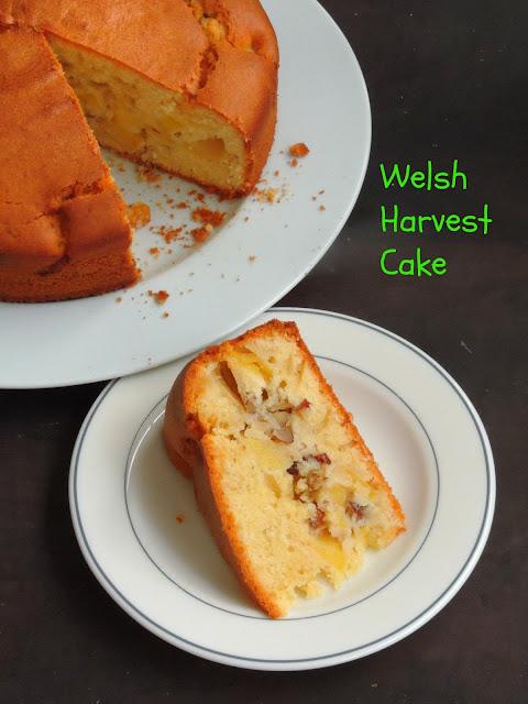 Welsh Harvest Cake,Teisen y Cynhaeaf