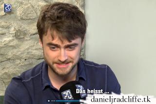 Daniel Radcliffe on 20 Minuten