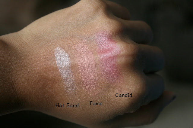 NARSissist Unfiltered II Swatches