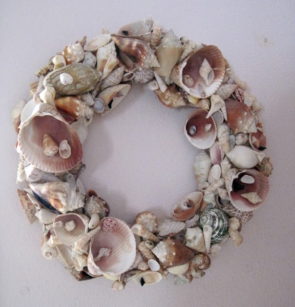 Stuff You Can T Have Seashell Wreath