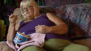 Orang gemuk mempunyai aktivitas fisik rendah tetapi bayak makan, lebih banyak pemasukan dari pada pengeluaran
