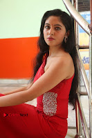 Actress Zahida Sam Latest Stills in Red Long Dress at Badragiri Movie Opening .COM 0125.JPG