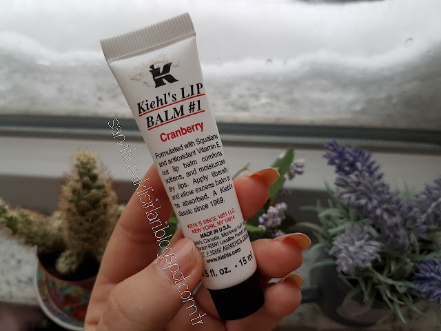 Kiehl's Lip Balm #1 Cranberry | Kızılcık Aromalı Dudak Nemlendiricisi