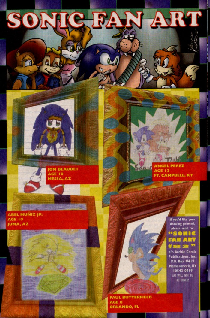 Read online Sonic The Hedgehog comic -  Issue #83 - 27