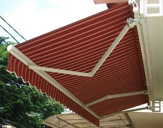 Canopy kain Gulung