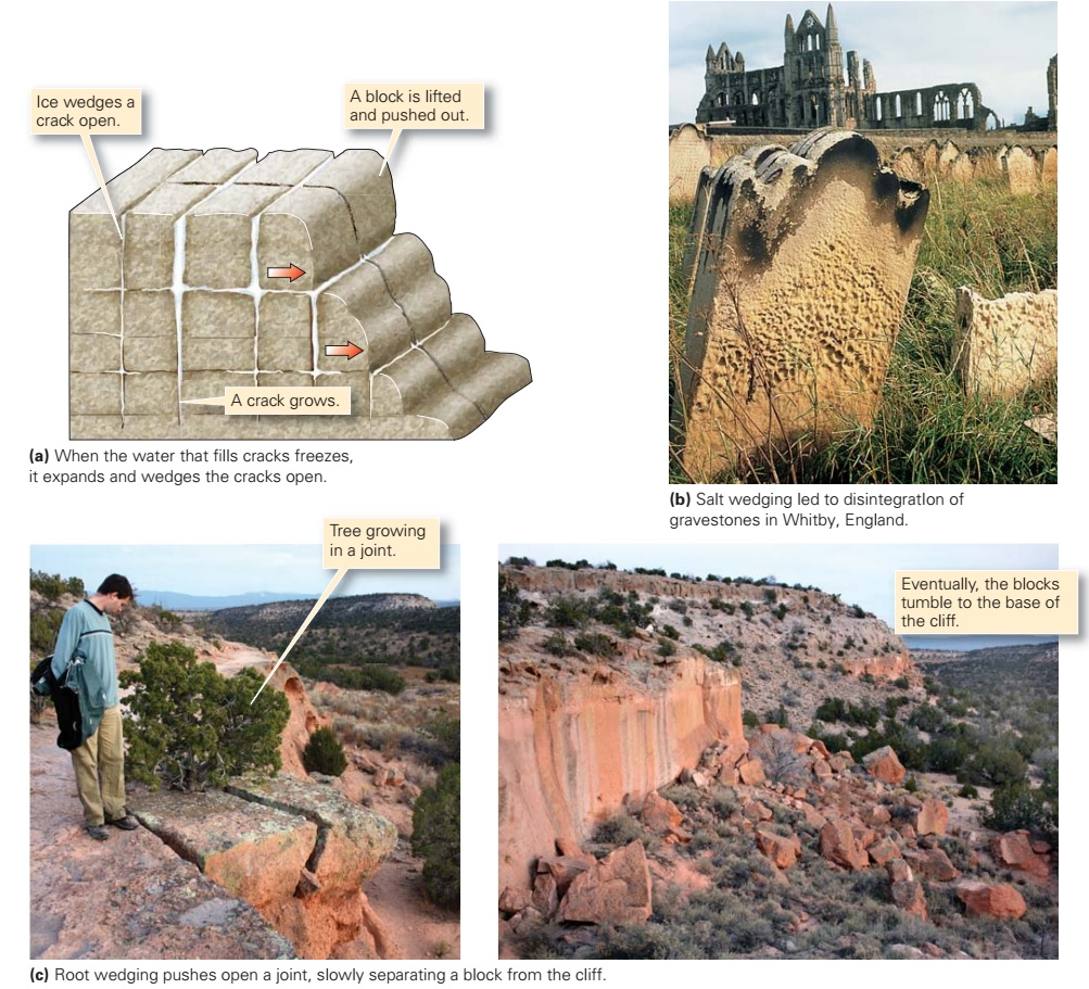 Types Of Weathering Learning Geology