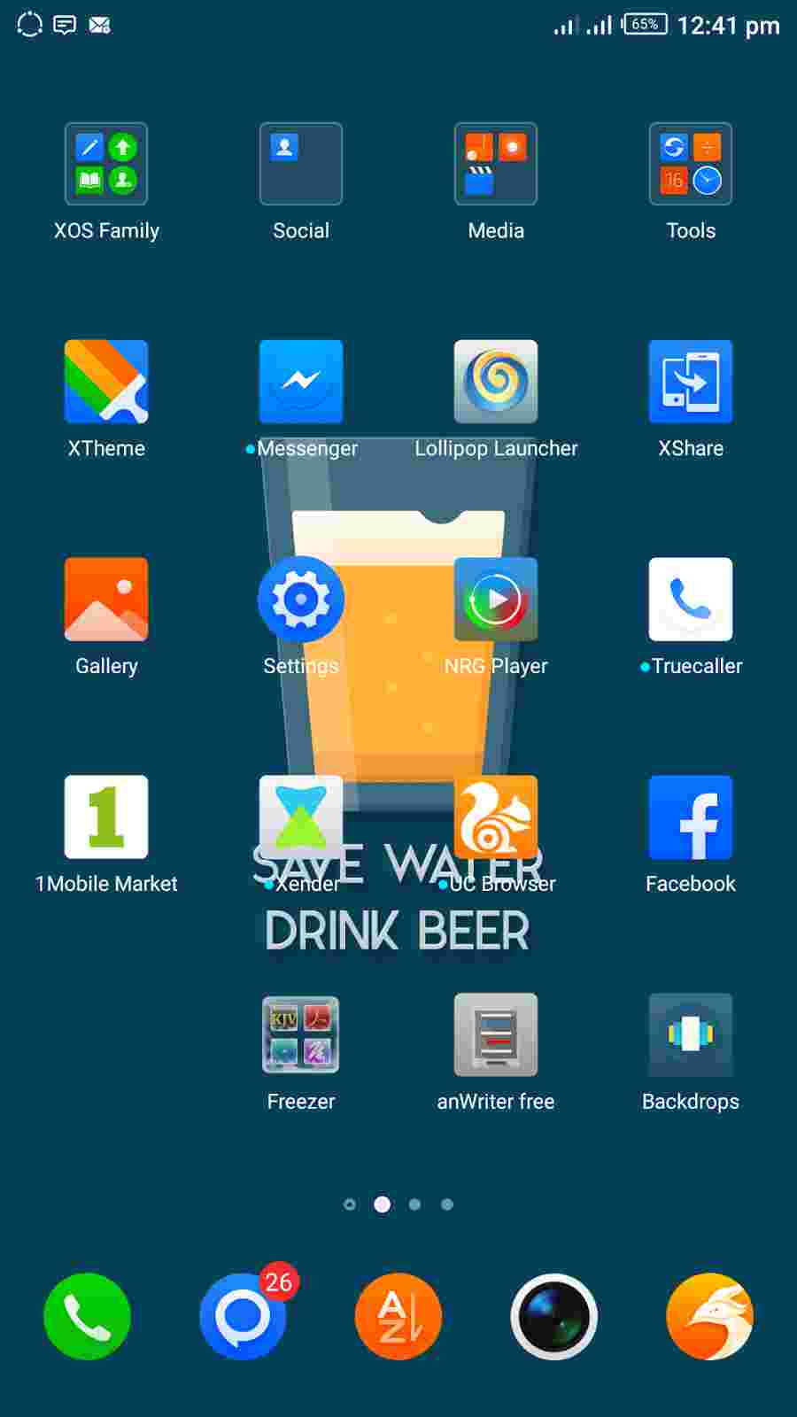 Step 1 - How To Hide And Disable Apps Using Infinix XOS App Freezer
