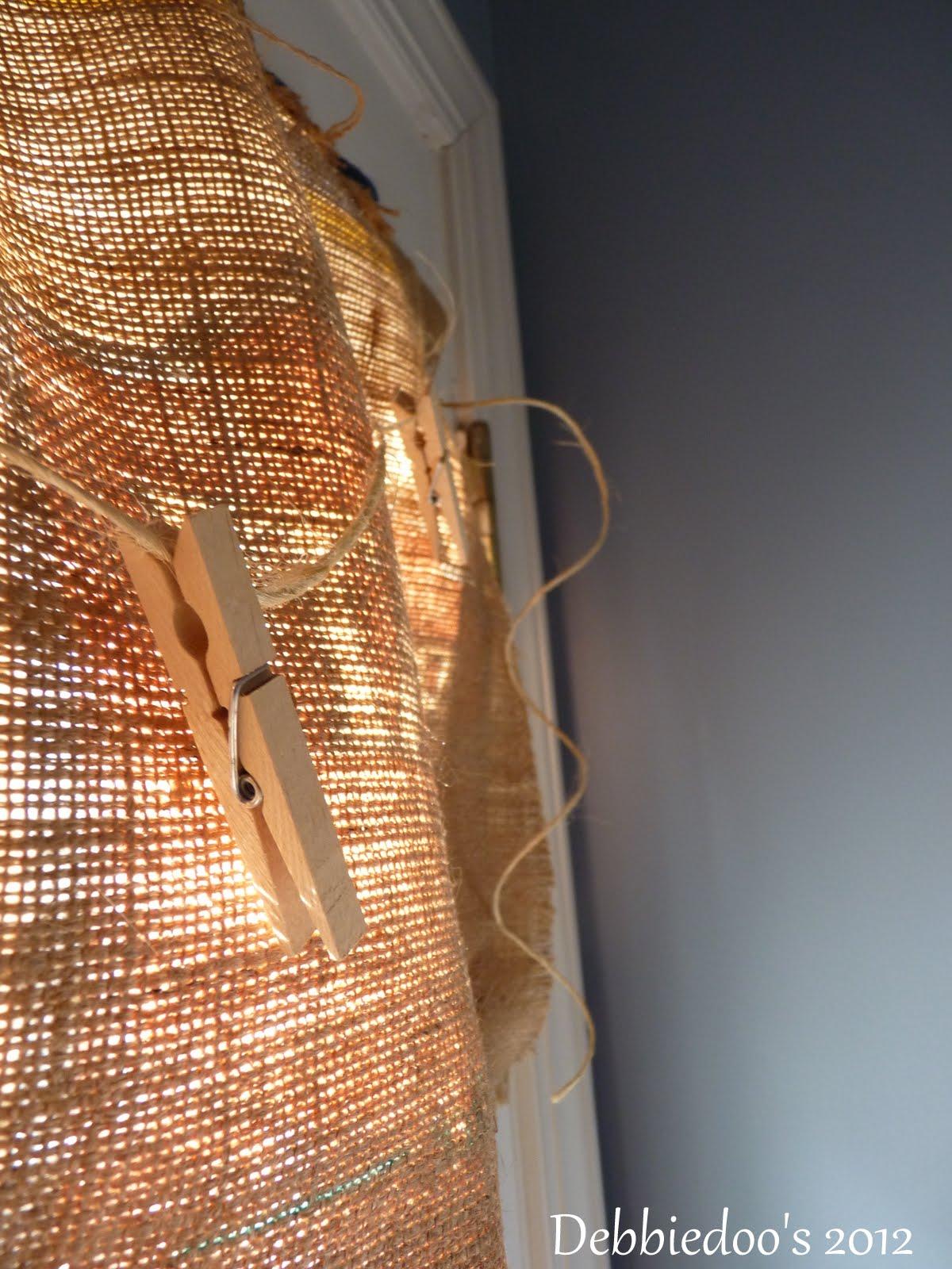 Burlap Diy Curtains