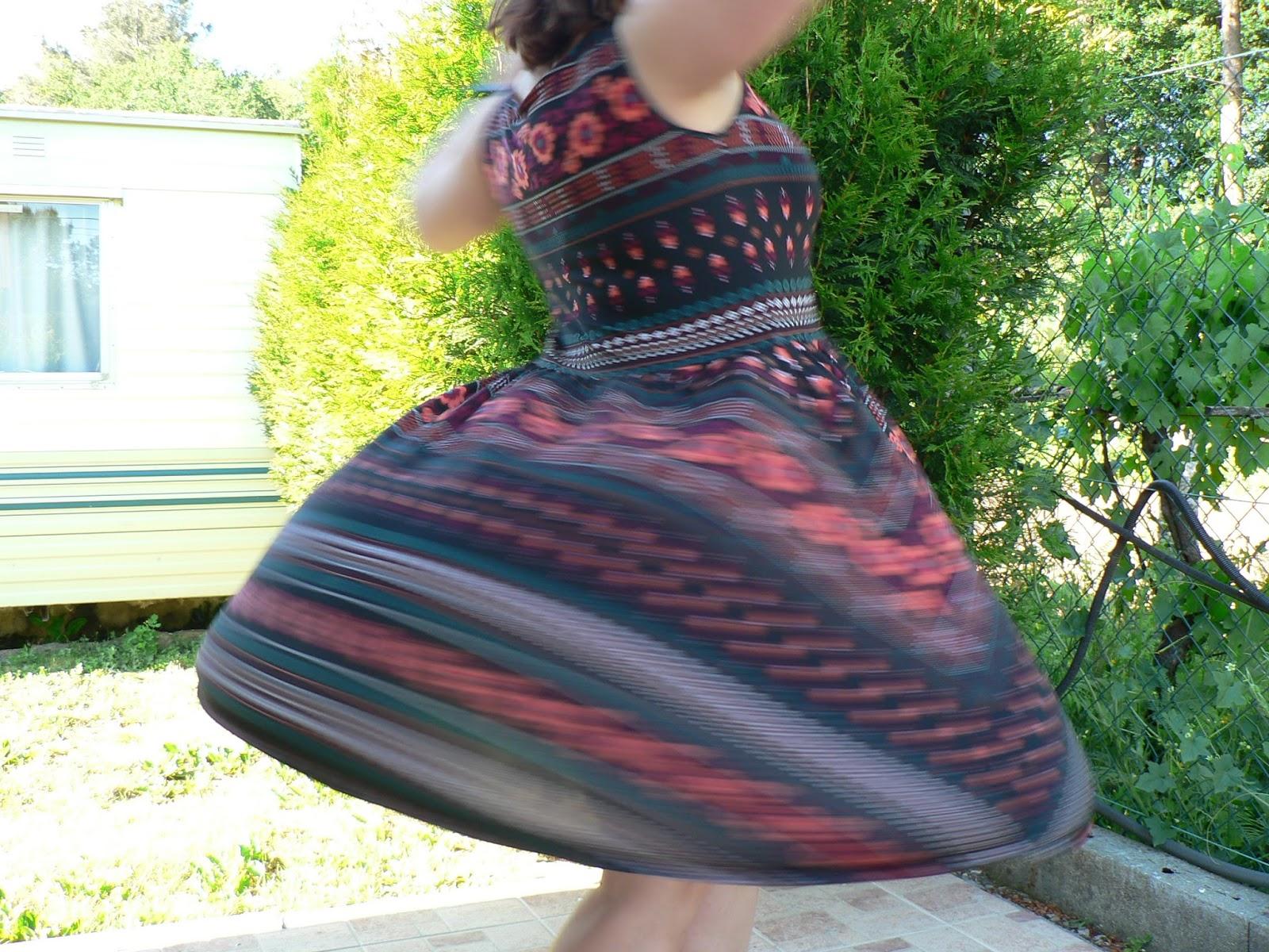 La costurera entrometida: Vestido Joy en compañia