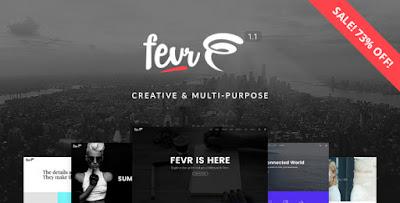 Fevr v1.1.5 – Creative MultiPurpose Theme