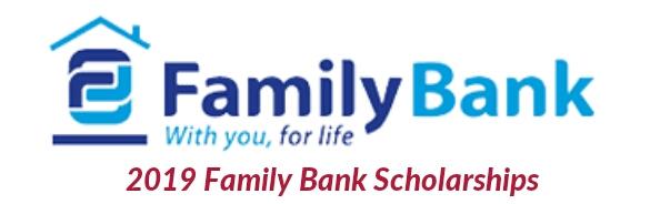 Family Bank scholarships 2019