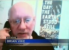 IMAGES FROM THE CTV TV NEWS ON INVESTIGATOR BRIAN VIKE.