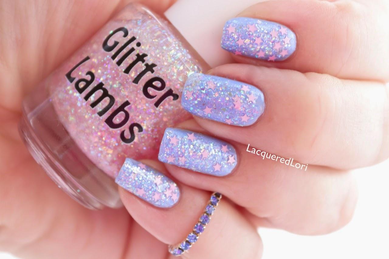Glitter Lambs: It\'s Snowing Cotton Candy Nail Polish by Glitter ...