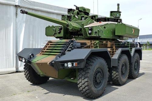 """Боевая разведывательная машина """"Jaguar"""" EBRC 6×6"""