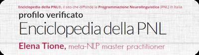 Elena Tione | Coach Certificato Enciclopedia della PNL