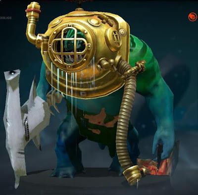 Tidehunter - Golden Floodmask