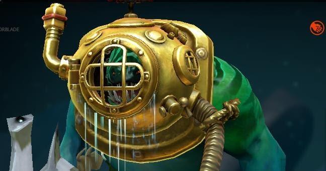 Tidehunter Golden Floodmask Dota 2 Mods