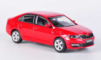New Skoda Rapid Facelift Image
