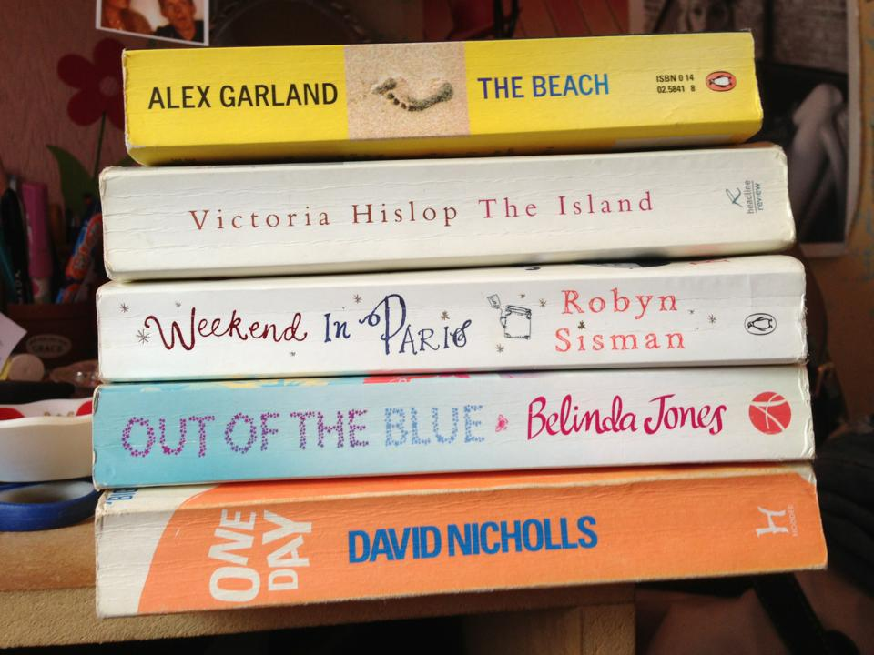 A pile of my favourite books