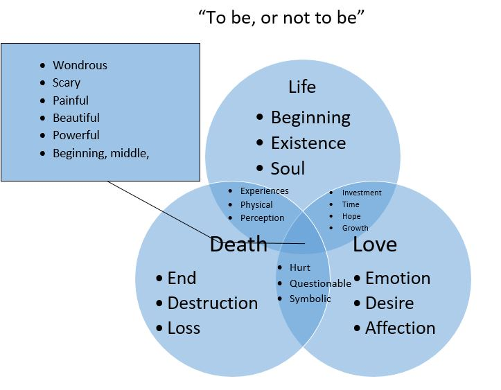 Venn Diagram Death Introduction To Electrical Wiring Diagrams